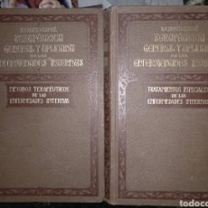 Libros antiguos: OS. TRATAMIENTO ESPECIALES DE LAS ENFERMEDADES INTERNAS PABLO KRAUSER Y CARLOS GARRE TOMO 1 Y2. Lote 104022275