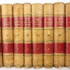 Libros antiguos: TRATADO DE TERAPÉUTICA APLICADA - 8 TOMOS - ALBERTO ROBIN - ESPASA - MEDICINA - SIGLO XIX. Lote 104100103