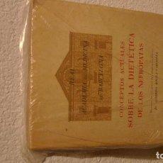 Libros antiguos: LIBRO LA DIETETICA DE LOS NEFRPATAS, SEIX BARRAL BARCELONA 1944. Lote 104108063