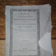 Libros antiguos: MANUAL...DE EXPLORACIÓN DEL PECHO... POR V. COLLIN. 1828 . AUSCULTACIÓN MEDIATA.. Lote 104531811