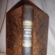 Libros antiguos: ENSAYO SOBRE LA HISTORIA DE LA FARMACIA - AÑO 1847 - CHIARLONE-MALLAINA.. Lote 104817119