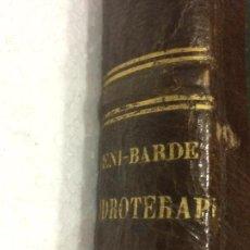 Libros antiguos: MANUAL MEDICO DE HIDROTERAPIA POR EL DR BENI BARDE 1870. Lote 91765939