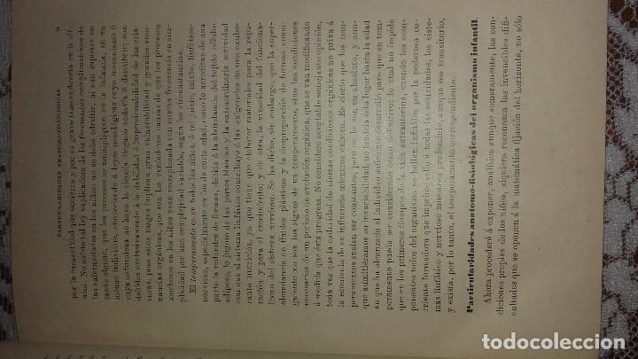 Libros antiguos: Tratado de las enfermedades de los niños Criado y Aguilar 1902 - Foto 2 - 107265099