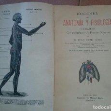 Libros antiguos: FISIOLOGIA E HIGIENE. Lote 107389447