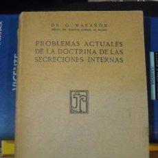 Libros antiguos: LA DOCTRINA DE LAS SECRECIONES INTERNAS. Lote 107397511