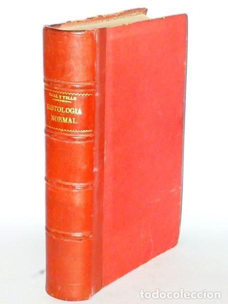ELEMENTOS DE HISTOLOGÍA NORMAL Y DE TÉCNICA MICROGRÁFICA (1931) (Libros Antiguos, Raros y Curiosos - Ciencias, Manuales y Oficios - Medicina, Farmacia y Salud)