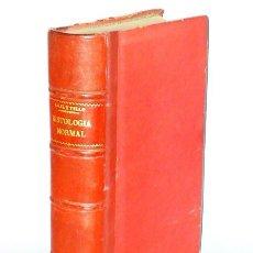 Libros antiguos: ELEMENTOS DE HISTOLOGÍA NORMAL Y DE TÉCNICA MICROGRÁFICA (1931). Lote 108277643