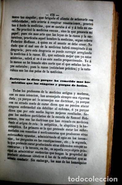 Libros antiguos: 1869 EL REGENERADOR DE LA NATURALEZA - MEDICINA NATURAL - PANACEA UNIVERSAL - 2 Tomos - RARO MOMBRU - Foto 6 - 108385911