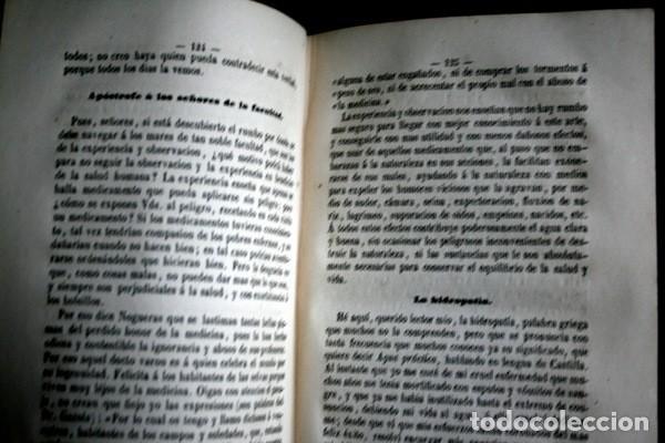 Libros antiguos: 1869 EL REGENERADOR DE LA NATURALEZA - MEDICINA NATURAL - PANACEA UNIVERSAL - 2 Tomos - RARO MOMBRU - Foto 7 - 108385911