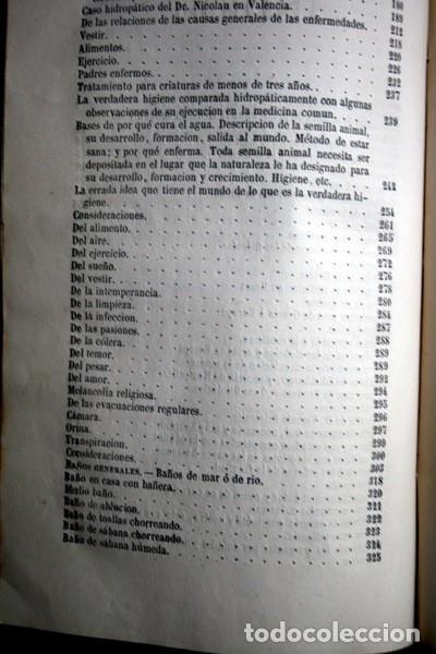 Libros antiguos: 1869 EL REGENERADOR DE LA NATURALEZA - MEDICINA NATURAL - PANACEA UNIVERSAL - 2 Tomos - RARO MOMBRU - Foto 8 - 108385911