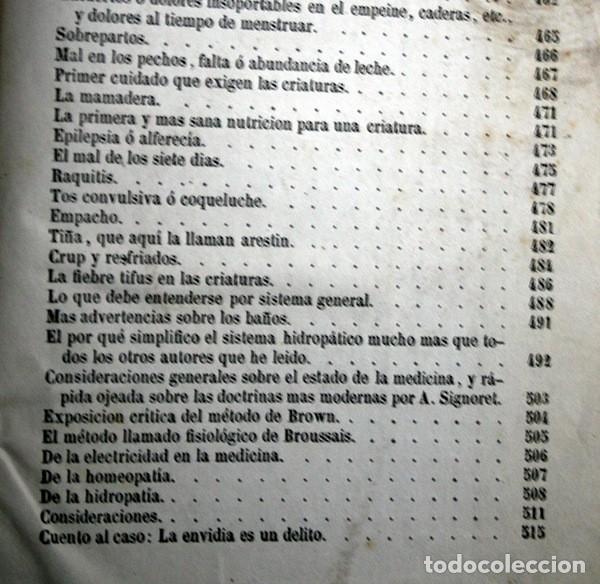 Libros antiguos: 1869 EL REGENERADOR DE LA NATURALEZA - MEDICINA NATURAL - PANACEA UNIVERSAL - 2 Tomos - RARO MOMBRU - Foto 13 - 108385911