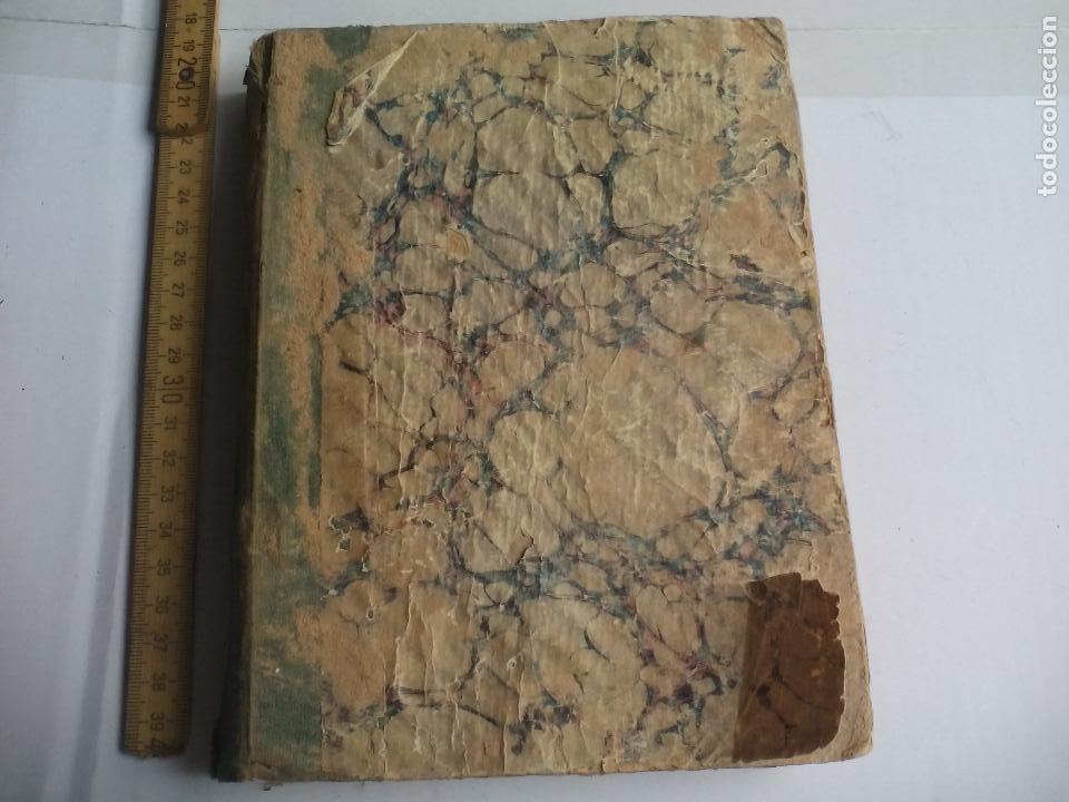 Libros antiguos: Antiguo libro manuscrito apuntes de farmacologia y materia médica. Farmacia, medicina. - Foto 2 - 109277511