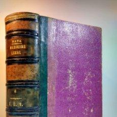 Libros antiguos: TRATADO DE MEDICINA Y CIRUGÍA LEGAL. 4. MATA, PEDRO. CARLOS BAILLY-BAILLIERE, 1875. 5ª ED MEJORADA. Lote 109911747