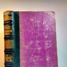 Libros antiguos: TRATADO DE MEDICINA Y CIRUGÍA LEGAL. 3. MATA, PEDRO. CARLOS BAILLY-BAILLIERE, 1875. 5ª ED MEJORADA. Lote 109914151