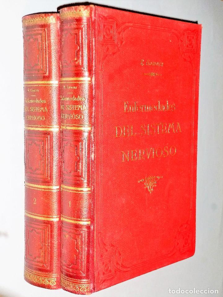 ENFERMEDADES DEL SISTEMA NERVIOSOS (2 TOMOS) (Libros Antiguos, Raros y Curiosos - Ciencias, Manuales y Oficios - Medicina, Farmacia y Salud)