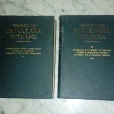 Libros antiguos: TRATADO DE PATOLOGIA INTERNA I Y II ,1928. Lote 110407843