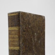 Libros antiguos: MEDICINA HOMEOPÁTICA DOMÉSTICA, DOCTOR C. HERING (FILADELFIA), 1867, 5ª ED, MADRID. 12,5X18,5CM. Lote 110624211