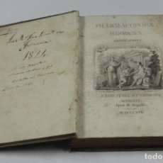 Libros antiguos: PHARMACOPOEA HISPANA, EDITIO QUARTA, 1817, M.REPULLÉS. 16X22,5CM. Lote 178188098