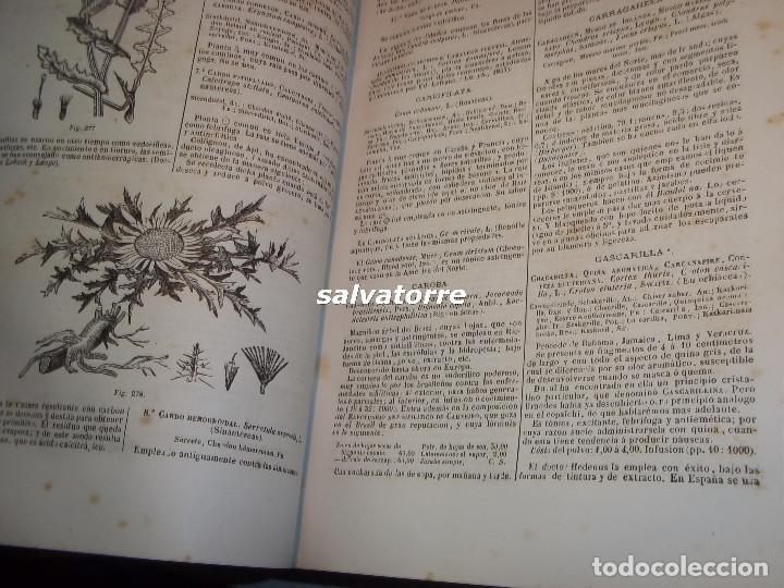 Libros antiguos: DORVAULT.LA BOTICA.FARMACIA.1880.MEDICINA.FORMULAS MAGISTRALES.MATERIALES,HOMEOPATIA. - Foto 7 - 111302987