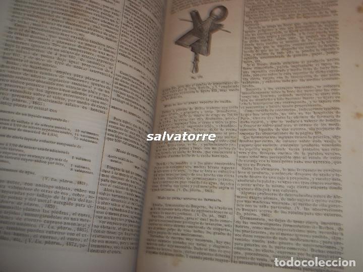 Libros antiguos: DORVAULT.LA BOTICA.FARMACIA.1880.MEDICINA.FORMULAS MAGISTRALES.MATERIALES,HOMEOPATIA. - Foto 16 - 111302987