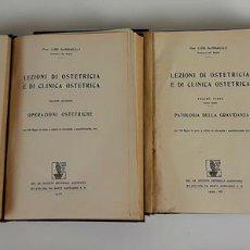 Libros antiguos: LEZIONI DI OSTETRICIA E DI CLINICA OSTETRICA. LUIGI MANGIAGALLI. 1928-1929.. Lote 111677947
