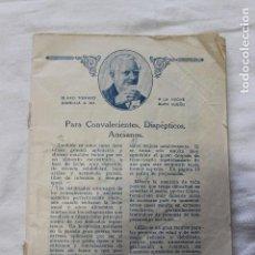 Libros antiguos: LIBRO PUBLICIDAD GLAXO, DEDICADO A NIÑOS Y NIÑAS, ENFERMEDADES SINTOMAS, 1924. Lote 111906351