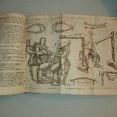Libros antiguos: INSTITUCIONES CHIRURGICAS Y CIRUGIA COMPLETA UNIVERSAL LORENZO HEISTER. TOMOS I Y II. Lote 112018679