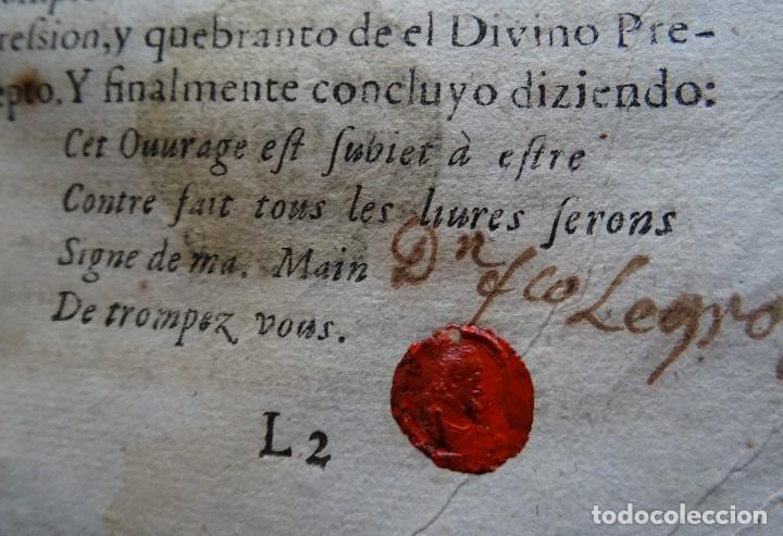 Libros antiguos: Tesoro de Medicina, Francisco Legros, 1717?, 204 pags, 8ª, tapas pergamino - Foto 13 - 112358035