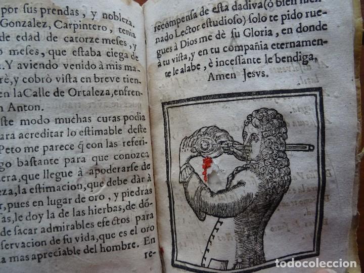 Libros antiguos: Tesoro de Medicina, Francisco Legros, 1717?, 204 pags, 8ª, tapas pergamino - Foto 16 - 112358035