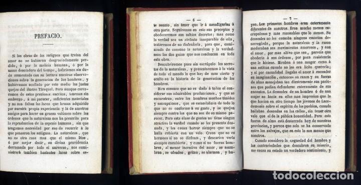 Libros antiguos: VENETTE, Nicolas (1633-1698). Pintura del amor conyugal considerado en el estado de matrimonio. 1869 - Foto 5 - 112857271