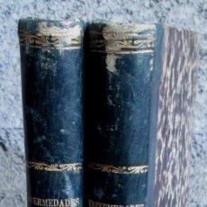 Libros antiguos: 2 LIB - TRATADO COMPLETO DE LAS ENFERMEDADES DE LAS MUJERES - BAJO LA DIRECCIÓN DE M. FABRE 1845. Lote 113286803