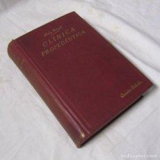 Libros antiguos: PRONTUARIO DE CLÍNICA PROPEDEÚTICA LEÓN CORRAL Y MAESTRO 1923. Lote 113621407