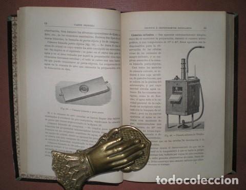 Libros antiguos: RAMON Y CAJAL, Santiago: ELEMENTOS DE HISTOLOGIA NORMAL Y DE TECNICA MICROGRAFICA. 1895 1ª edición - Foto 4 - 113677871