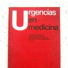 Libros antiguos - URGENCIAS EN MEDICINA - 114337359