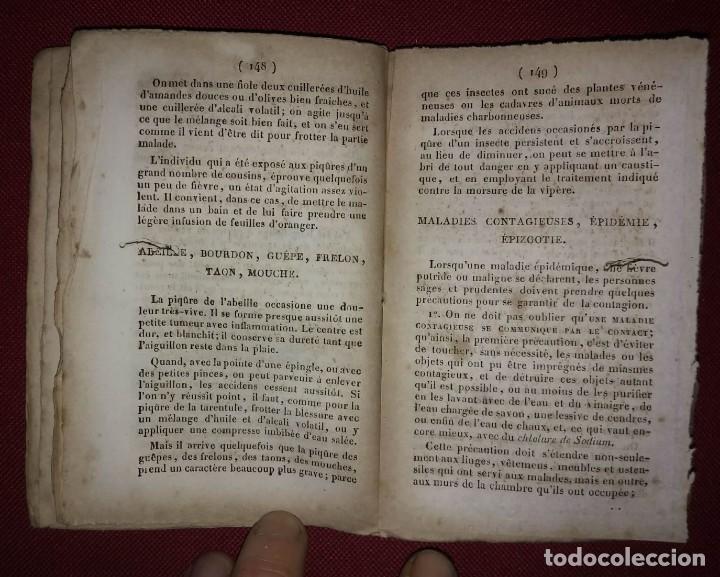 Libros antiguos: Manuel pratique des contre-poisons. Hector Chaussier. Antídotos contra venenos. Libro francés. 1836 - Foto 2 - 114405599