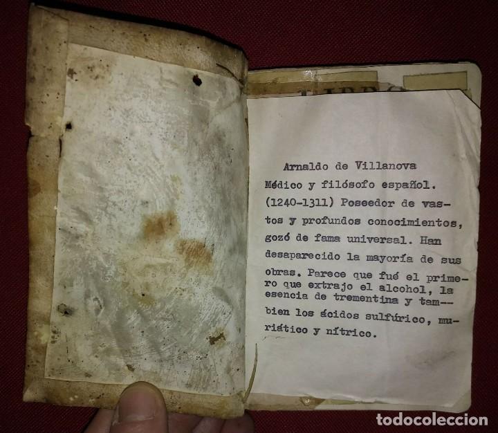 Libros antiguos: Libro de medicina, llamado Tesoro de Pobres 1747 - Foto 5 - 114707775