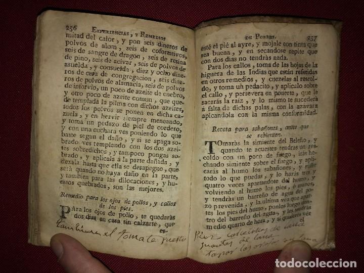 Libros antiguos: Libro de medicina, llamado Tesoro de Pobres 1747 - Foto 11 - 114707775