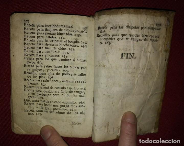 Libros antiguos: Libro de medicina, llamado Tesoro de Pobres 1747 - Foto 15 - 114707775