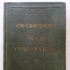 Libros antiguos: ENFERMEDADES DE LAS CORONARIAS - DR. DURAN ARROM - INSTITUTO DE MEDICINA PRÁCTICA (1936). Lote 114774239