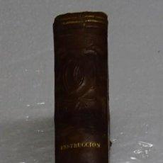 Libros antiguos: CURSO ELEMENTAL DE INSTRUCCION DE CIEGOS. 1847. JUAN MANUEL BALLESTEROS Y FERNANDEZ VILLABRILLE. Lote 114820535