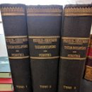 Libros antiguos: TRATADO ENCICLOPÉDICO DE PEDIATRÍA, DRS PFAUNDLER Y SCHLOSSMANN. TOMOS I II Y III. Lote 87842052