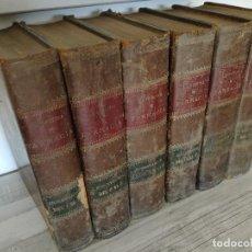 Libros antiguos: LA OFICINA DE FARMACIA - DORVAULT - 6 TOMOS CON LOS SUPLEMENTOS ANUALES DEL 1 (1880) AL 25 (1905). Lote 115738007