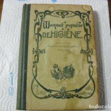 Libros antiguos: MANUAL POPULAR DE HIGIENE REDACTADO POR EL CONSEJO IMPERIAL DE SANIDAD DE ALEMANIA ENTRA Y MIRALO . Lote 116457071