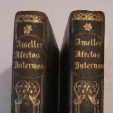 Livres anciens: ELEMENTOS DE AFECTOS INTERNOS - 2 TOMOS - AÑO 1844. Lote 116879391