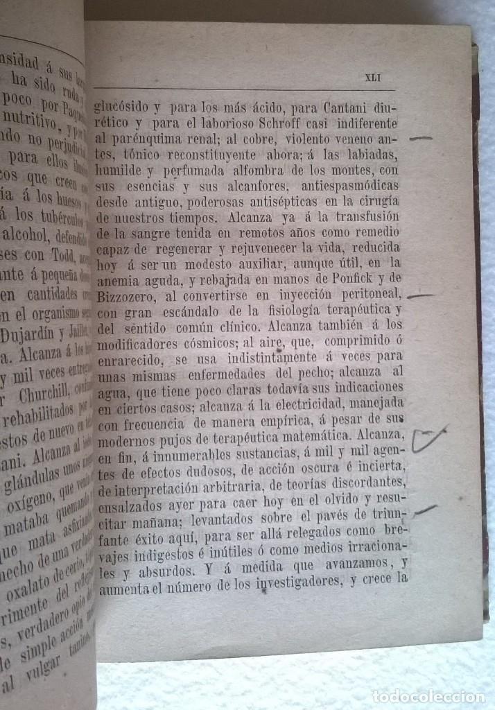 Libros antiguos: 303-Formulario médico razonado 1888-Garín, Pascual - Foto 8 - 56544836