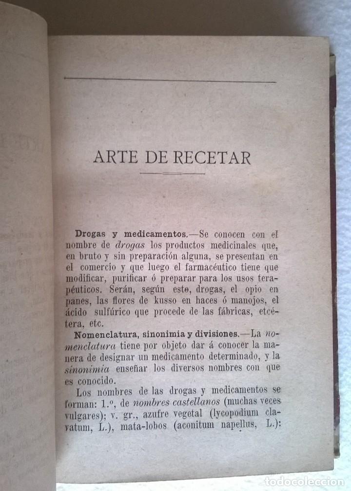 Libros antiguos: 303-Formulario médico razonado 1888-Garín, Pascual - Foto 9 - 56544836