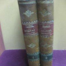 Libros antiguos: LAS NUEVAS MEDICACIONES. 2 VOL. DUJARDIN-BEAUMETZ. DE BAILLY Y - BAILLIERE E HIJOS. 1892.. Lote 118536695