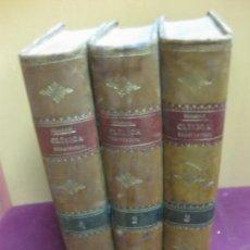 Libros antiguos: CLINICA TERAPEUTICA. 3 VOL. DUJARDIN-BEAUMETZ. DE BAILLY Y - BAILLIERE E HIJOS. 1892.. Lote 118537643