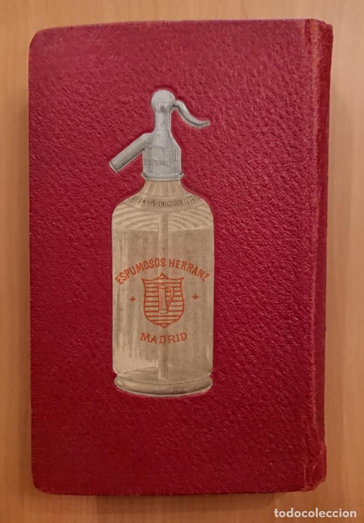 Libros antiguos: GUIA MÉDICO FARMACÉUTICA DE MADRID 1910, ESPUMOSOS HERRANZ - Foto 2 - 118591935