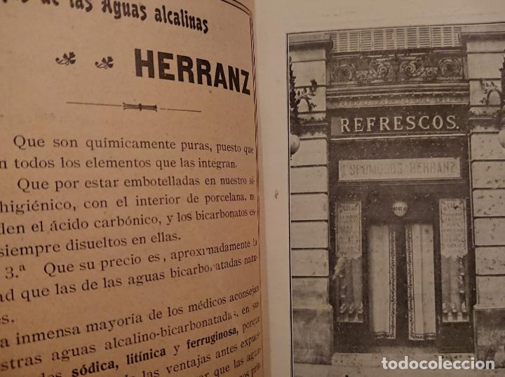 Libros antiguos: GUIA MÉDICO FARMACÉUTICA DE MADRID 1910, ESPUMOSOS HERRANZ - Foto 4 - 118591935
